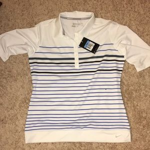 Nike new with tag women's Dri fit golf shirt